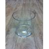 Contenant rond transparent (15cm x 15cm)