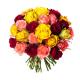 Bouquet 30 roses variées - Livraison roses - France Fleurs