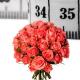 Bouquet de roses roses sur mesure - Livraison fleurs - France Fleurs