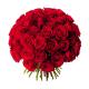 Bouquet 50 roses rouges - Livraison 50 roses - France Fleurs
