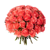 Bouquet 40 roses roses - Livraison 40 roses roses - France Fleurs