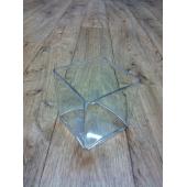 Vase cube Plexiglas 15x15 cm