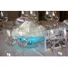 Suggestion d'utilisation du colorant d'eau pour vases bleu