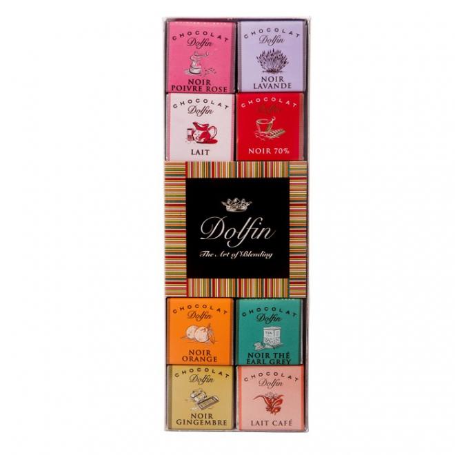 Coffret 24 chocolats Dolfin - livraison fleurs et chocolats - France Fleurs