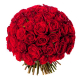 Bouquet Saint Valentin - 101 roses rouges - France Fleurs