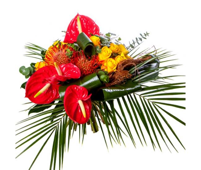 coffret exotique fleurs et chocolats livraison fleurs et chocolats france fleurs. Black Bedroom Furniture Sets. Home Design Ideas