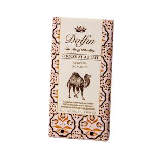 Chocolat au lait à l'abricot du Maroc Dolfin