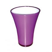 Vase fizzy petit violet