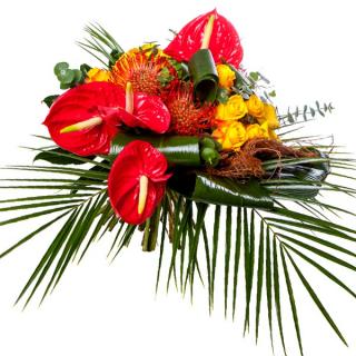 Bouquet Exotique - Livraison fleurs exotiques - France Fleurs