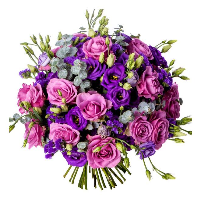 bouquet de lisianthus livraison roses et lisanthus pas chers france fleurs. Black Bedroom Furniture Sets. Home Design Ideas