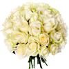 Bouquet 30 roses blanches - Livraison bouquet de roses - France Fleurs