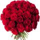 Bouquet 40 roses rouges - livraison roses rouges - France Fleurs