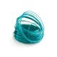 Bobine fil d'aluminium turquoise - France Fleurs