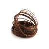Bobine fil d'aluminium marron (60 m.) - France Fleurs