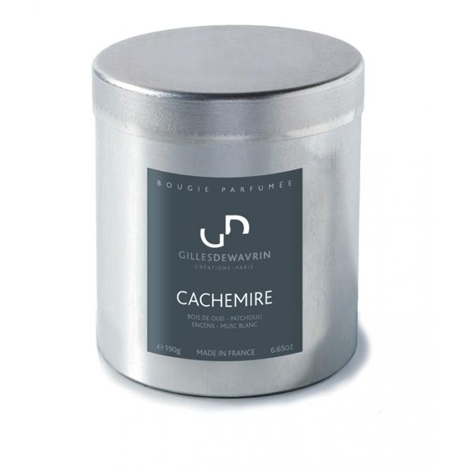 Bougie cachemire - Gilles Dewavrin