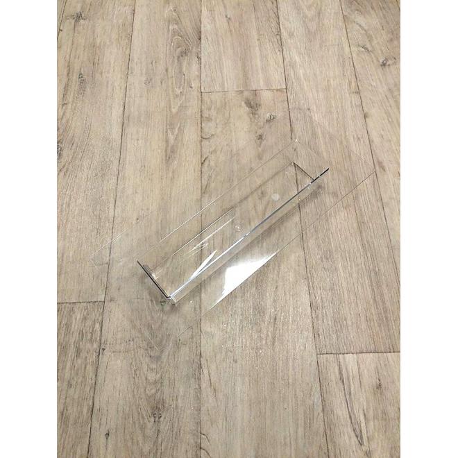 vase rectangulaire plexiglas transparent 39 x 16 3 cm contenant en plastique france fleurs. Black Bedroom Furniture Sets. Home Design Ideas