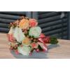 Bouquet de mariée Corail