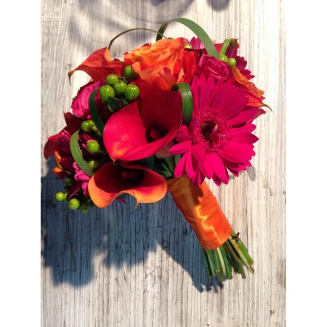 Bouquet de mariée Sunrise
