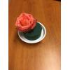 Cylindre mousse mouillable avec rose