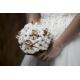 Bouquet de mariée de coton