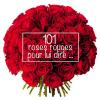 Bouquet Saint Valentin - 101 roses rouges - France Fleurs