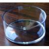 Contenant rond transparent (15cm x 6.5cm)