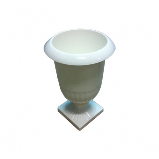 Vase Médicis blanc