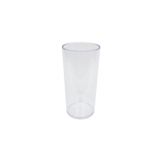 Vase tube Plexiglas haut 25 cm