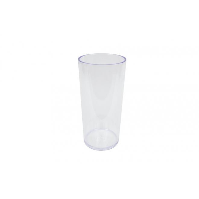 vase tube plexiglas cristal haut 25 cm contenant en plexi france fleurs. Black Bedroom Furniture Sets. Home Design Ideas
