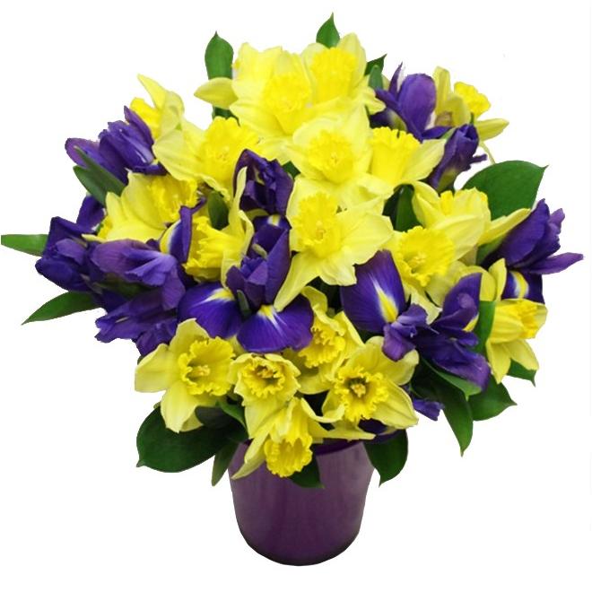 Bouquet Mamie + Vase - livraison fleurs Grand Mère - France Fleurs
