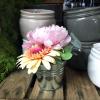 Petit vase en zinc (8 cm)