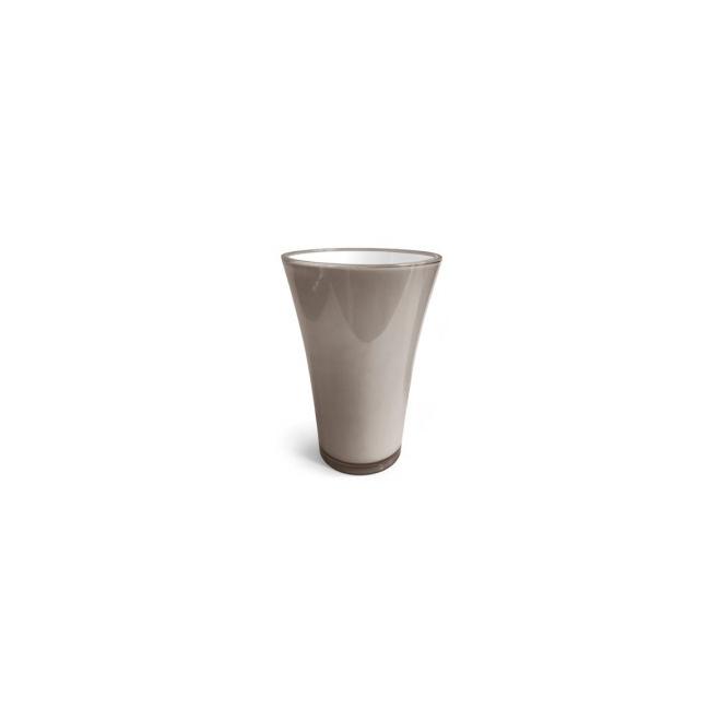 Vase fizzy petit taupe
