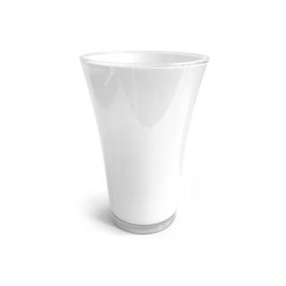 Vase blanc - vase plastique incassable - France Fleurs