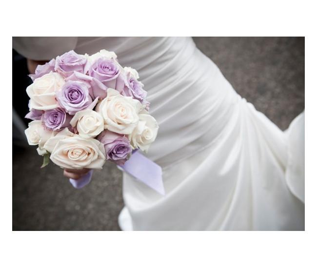 Bouquet mari e roses tendres achat bouquet de mari e en - Bouquet mariee rose ...