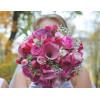 Bouquet de mariée Camaïeu de Roses - France Fleurs