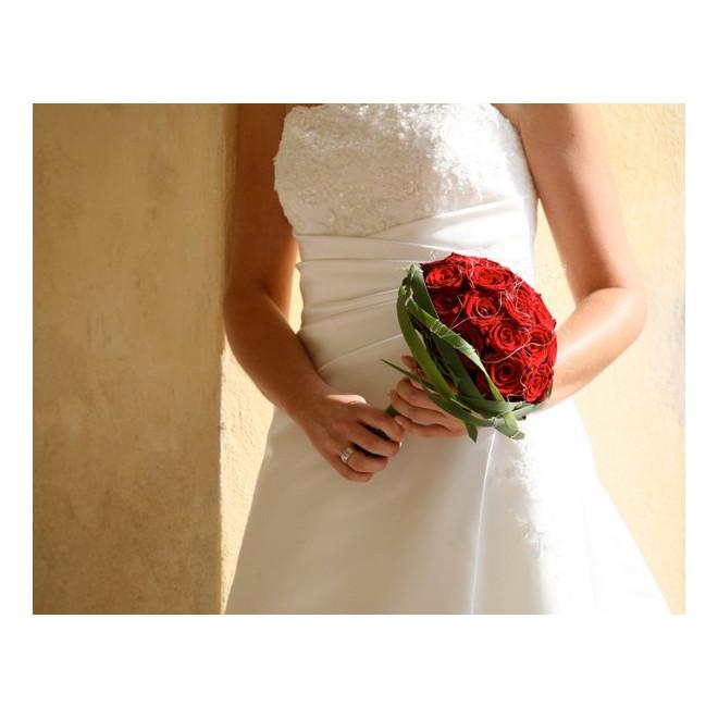 Bouquets de mariée Le flamboyant - France Fleurs