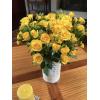 Rose branchue jaune - livraison fleurs mariage - France Fleurs