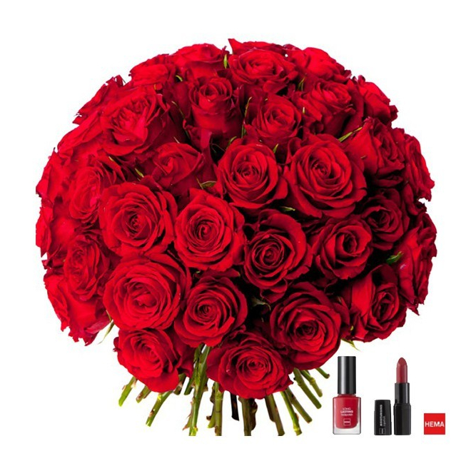 bouquet le magnifique 101 roses rouges vernis et rouge l vre france fleurs. Black Bedroom Furniture Sets. Home Design Ideas