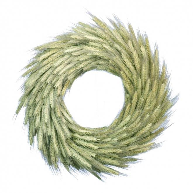 Couronne de blé sec