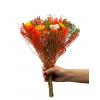 Bouquet sec orange