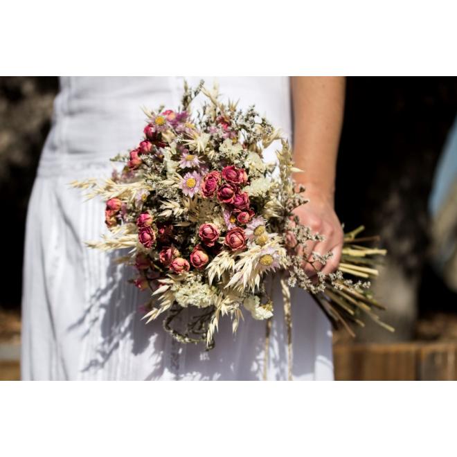 Bouquet de mariée sec Joséphine