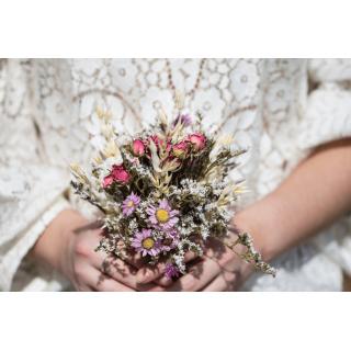 Bouquet demoiselle séché Joséphine