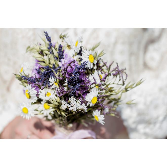 Bouquet demoiselle séché Maude