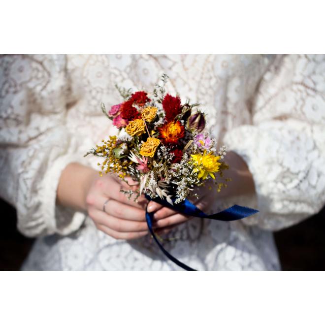 Bouquet demoiselle seché Louison