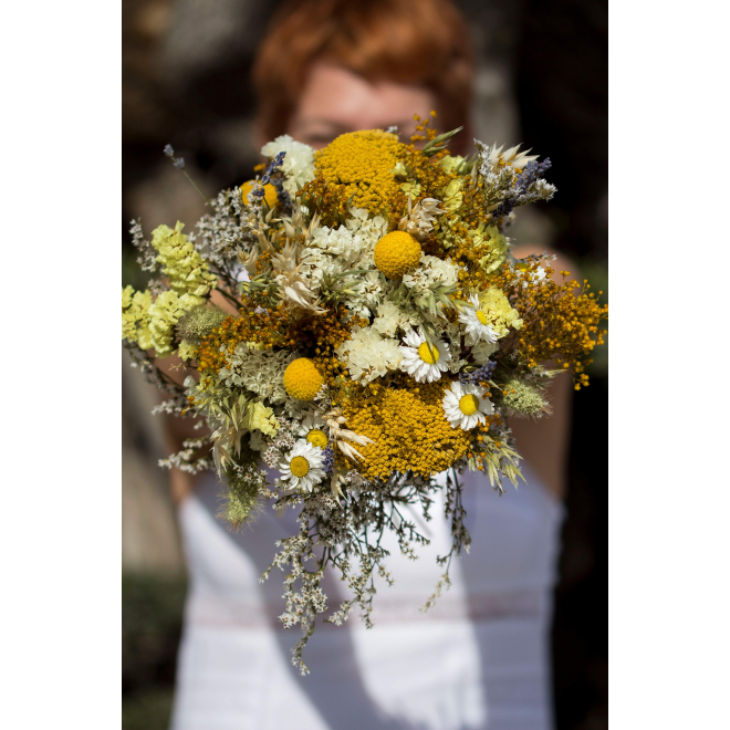 Bouquet de mariée sec Edith