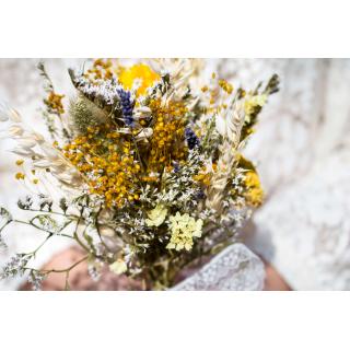 Bouquet demoiselle seché Edith