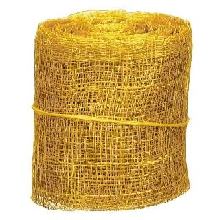 Ruban d'abaca jaune (5 m)