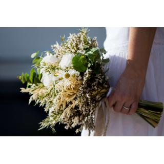 Bouquet de mariée sec Colette