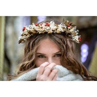 Couronne de fleurs Lucie