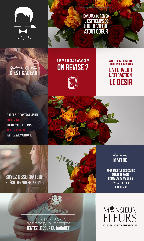 Bouquet Charnel par Monsieur Fleurs